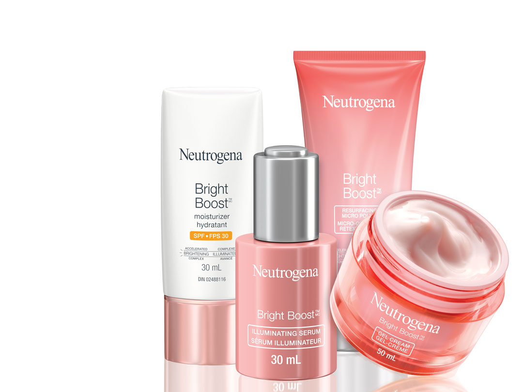 Neutrogena Bright Boost products